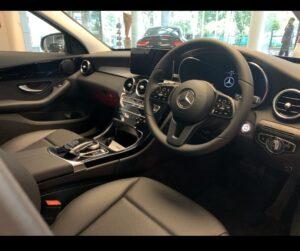 interior Mercedes C180