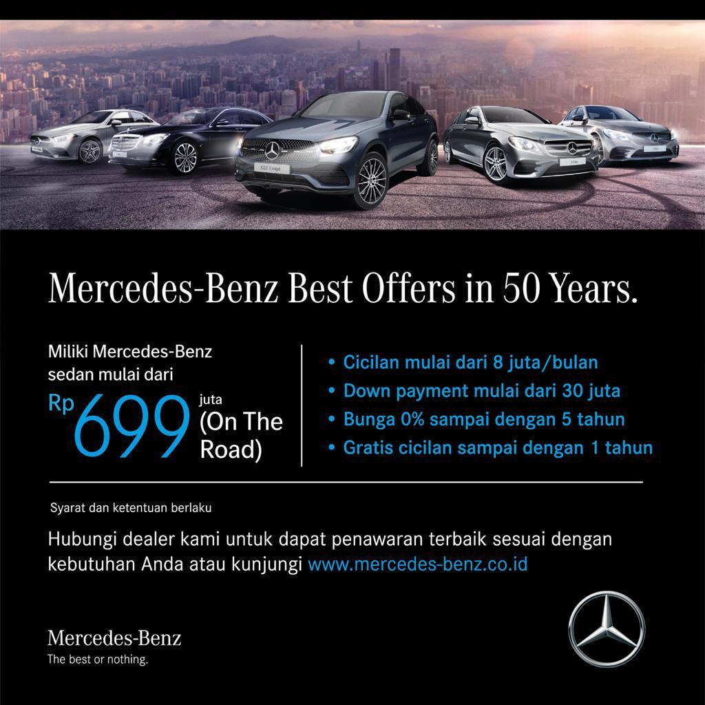 Promo Mercedes Benz Akhir Tahun 2020 I 081298927411