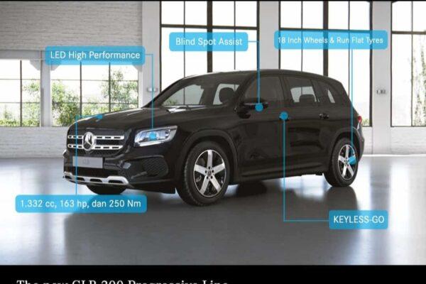 Mercedes-Benz GLB 200 Progressive Line